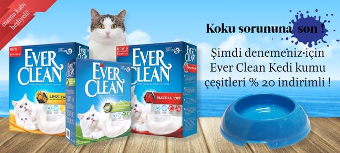 Everclean Kedi Kumu 20 İndirimli