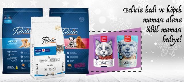 Felcia Kedi ve Köpk Maması Ödül Hediyeli