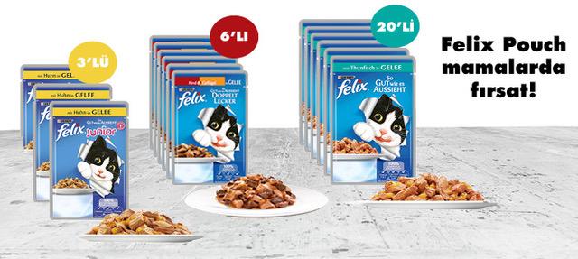 Felix Kedi Konservesi Çoklu Fırsat