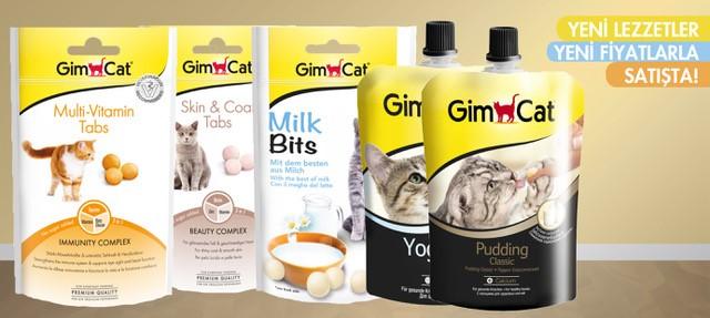 Gimkat Kedi Ürünleri Yeni Lezzetlerle