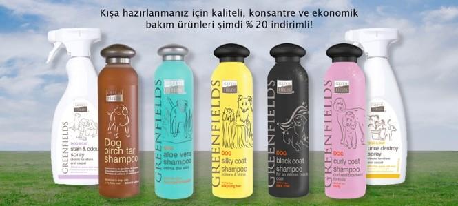 Green Fields Köpek Şampuanları 20 İndirimli