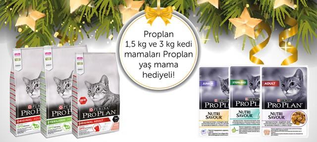 Proplan 15 ve 3 Kg Kedi Mamaları Yaş Mama Hediyeli