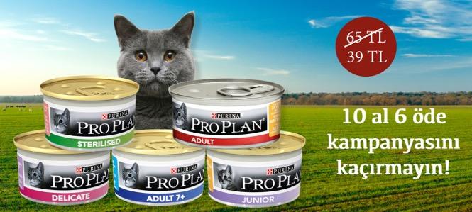 Proplan Kedi Konservesi 65 yerine 39