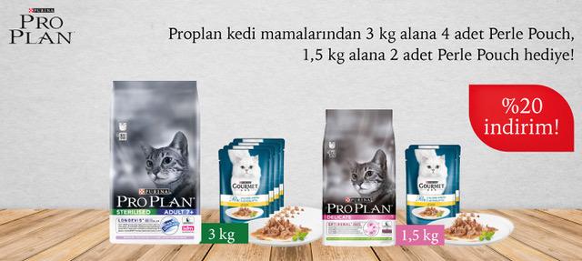 Proplan Kuru Kedi Maması Perle Hediyeli