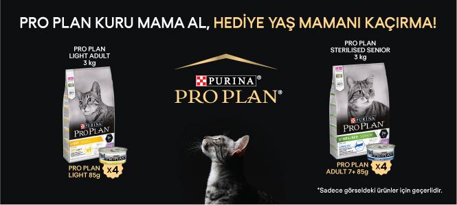 Proplan Kedi Maması Yaş Mama Hediyeli