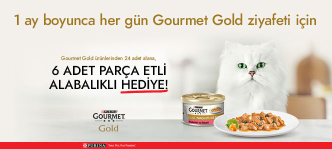 Purina Gourmet Gold 24 Al Hediye
