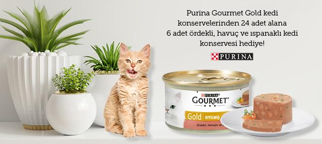 Purina Gourmet Gold Kedi Konserveleri
