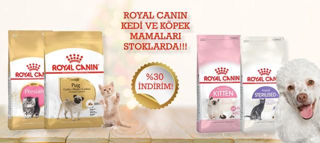 Royal Canin Kedi Köpek Mamaları İndirimli