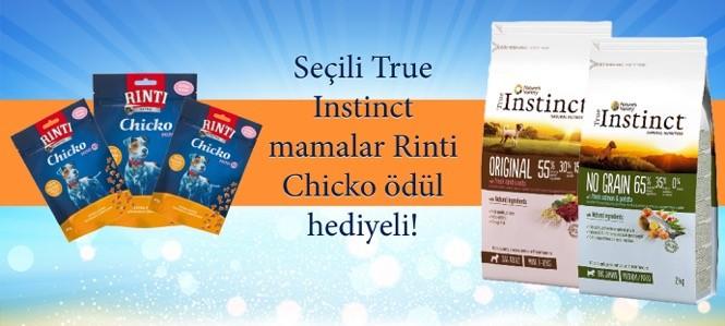 True İnstinct Köpek Mamaları Rinti Hediyeli