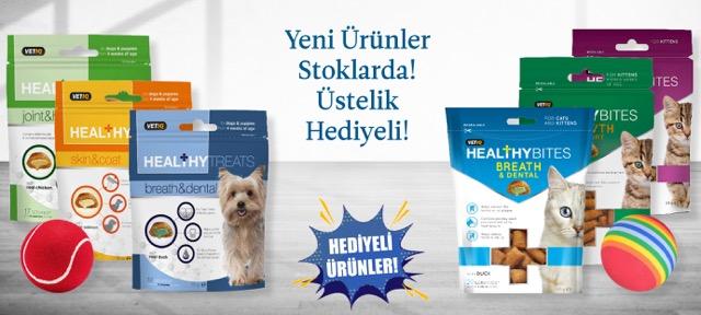VetIQ Kedi ve Köpek Ödülleri Yeni ve Hediyeli