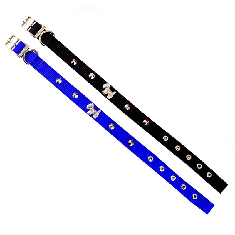 Pet Style Metal Köpek Figürlü Çift Katlı Köpek Boyun Tasması 55 cm | 41,37 TL