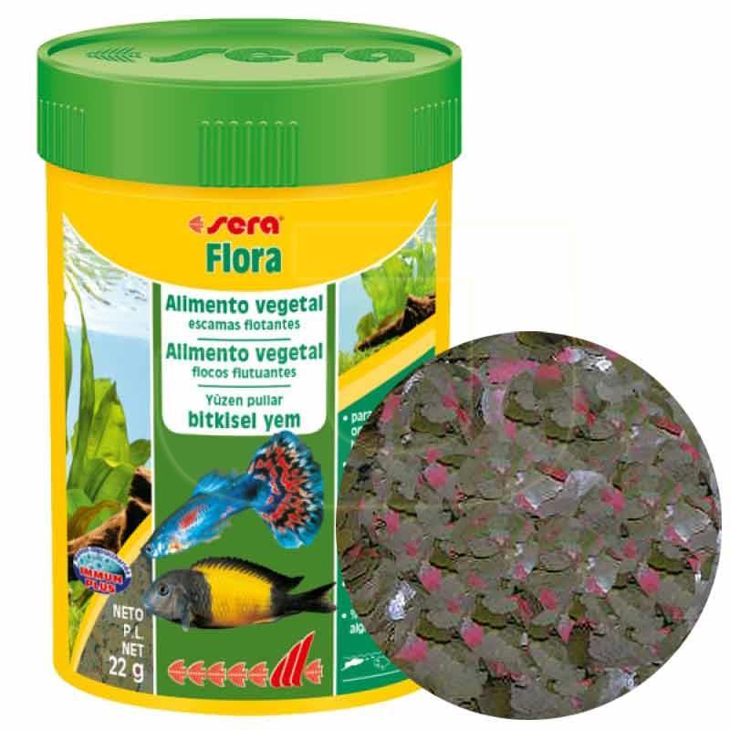 Sera Flora Bitkisel Pul Balık Yemi 100 ml | 26,87 TL