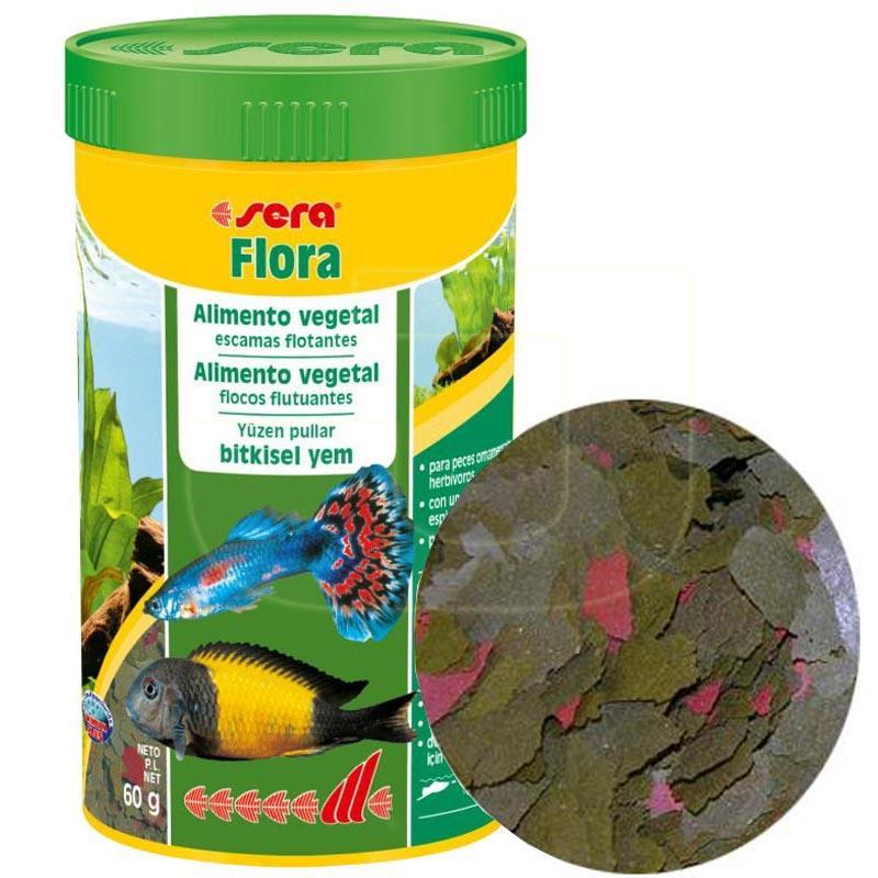 Sera Flora Bitkisel Pul Balık Yemi 250 ml | 57,03 TL