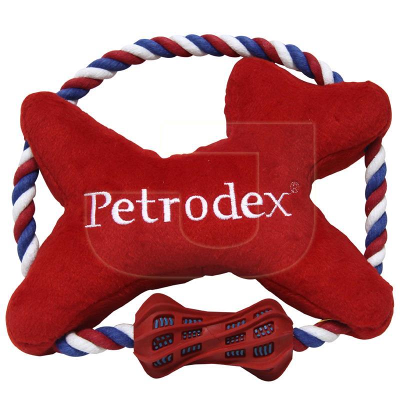 Sergeants Petrodex Diş İpli Peluş Köpek Oyuncağı 28 cm   28,76 TL