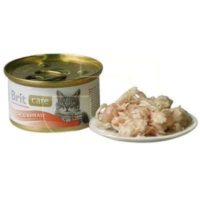 Brit Care Chicken Breast Tavuklu Kedi Konservesi 80 gr | 7,02 TL