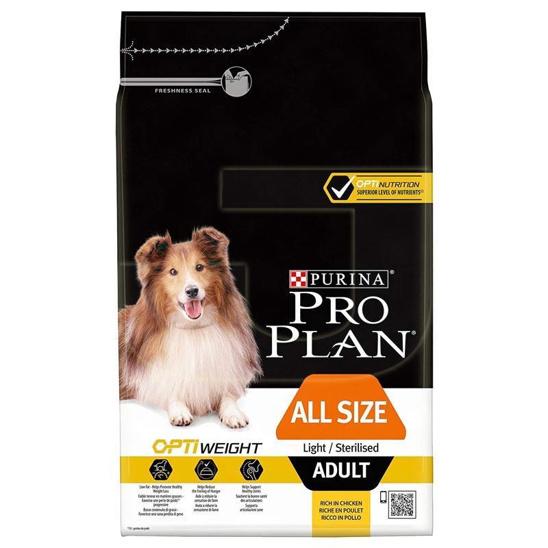 ProPlan Light Tavuklu Ve Pirinçli Kısırlaştırılmış Köpek Maması 3 Kg | 139,90 TL