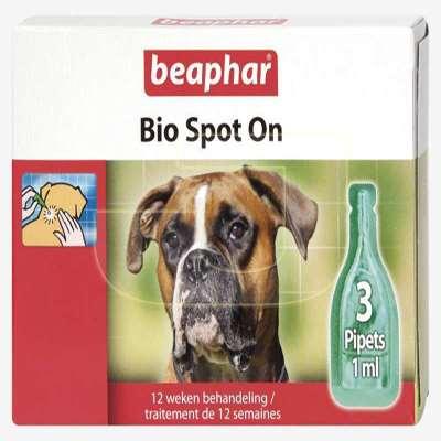 beaphar bio spot on k pek in bitkisel deri bak m damlas 3 l paket. Black Bedroom Furniture Sets. Home Design Ideas
