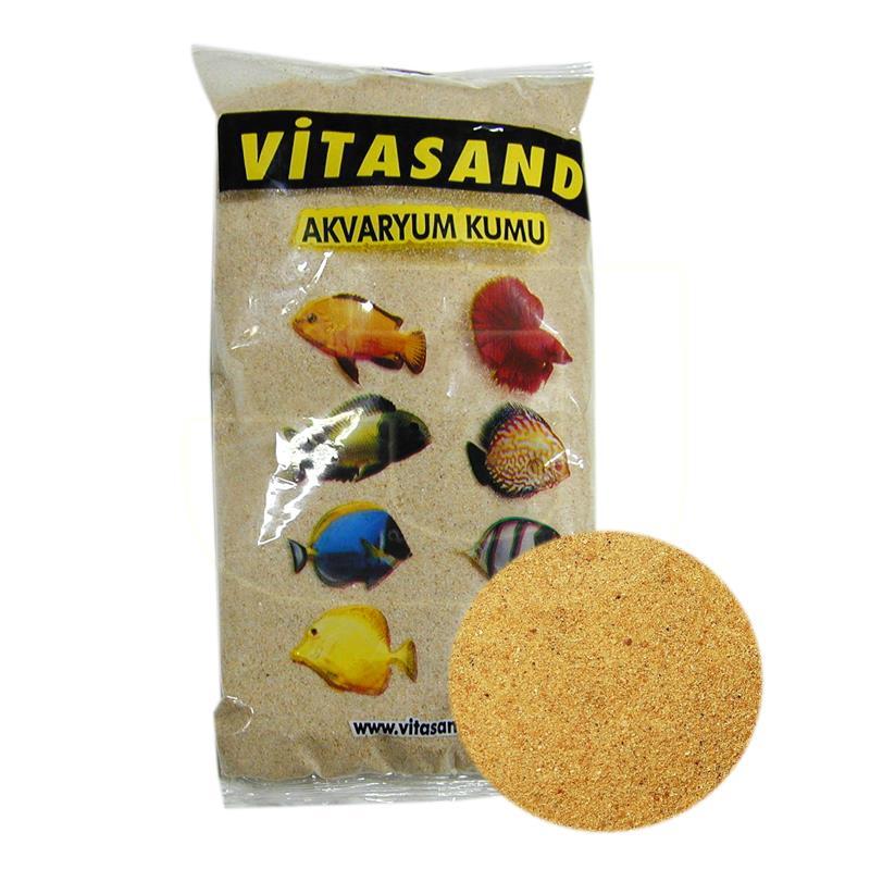 Vitasand Doğal Silis Akvaryum Kumu 750 gr 0,7 mm | 4,66 TL