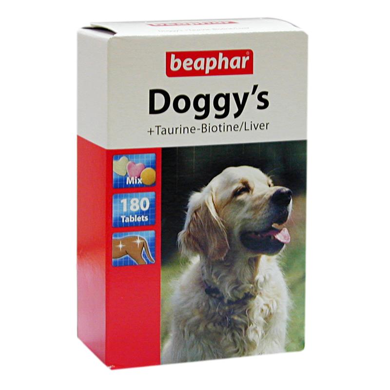 Beaphar Doggys Köpekler İçin Biotin Ve Taurin Tableti 180 Adet   51,79 TL