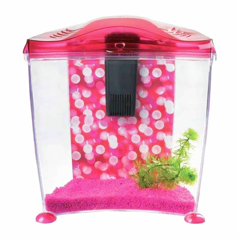 Hagen Marina Cool 10 Japon Balığı Akvaryum Seti Pembe 10 Litre | 275,16 TL