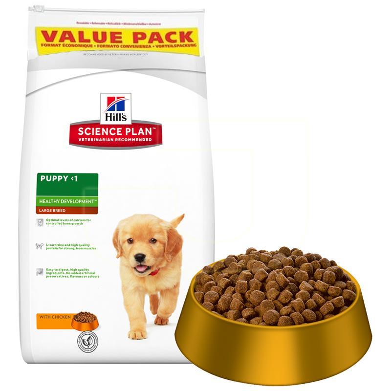 Hills Puppy Tavuklu Büyük Irk Yavru Köpek Maması 16 Kg | 403,74 TL