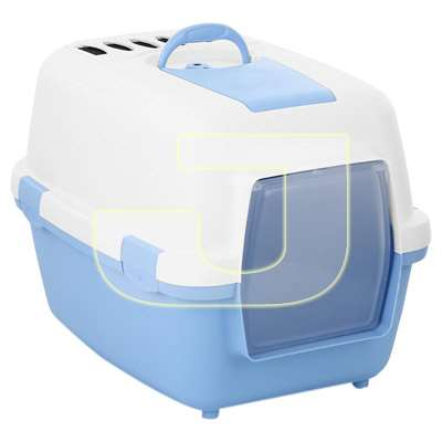 Stefanplast Wiva Cat Mavi Karbon Filtreli Kapalı Tuvalet Kabı 55 cm | 209,25 TL