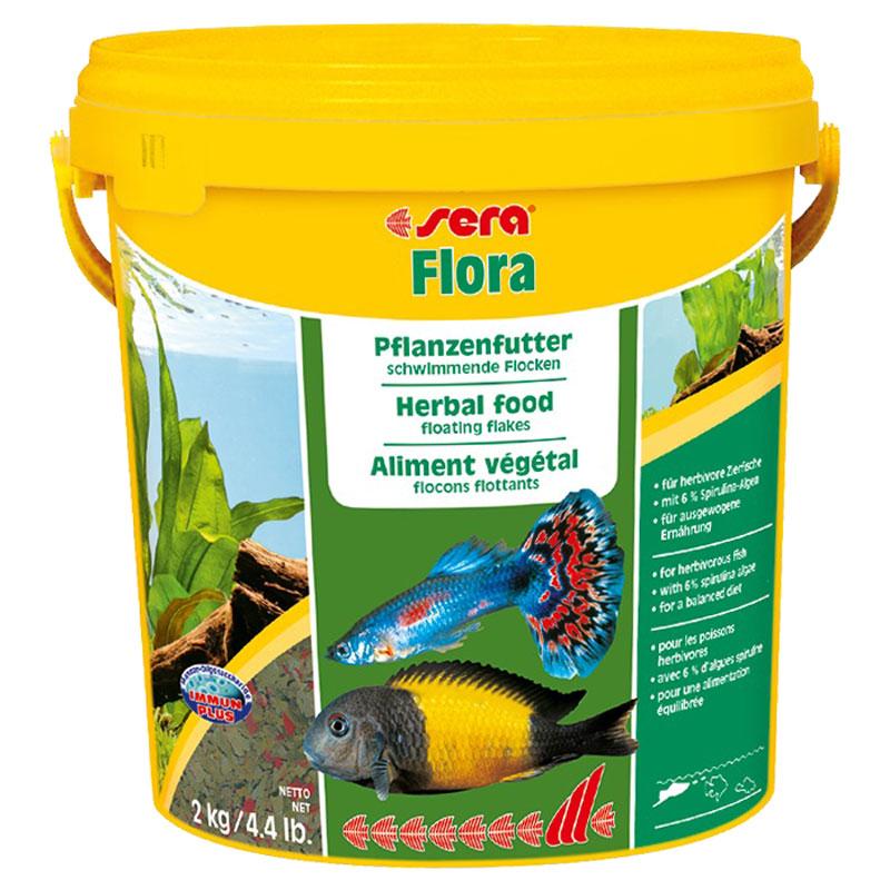 Sera Flora Bitkisel Pul Balık Yemi 10 Litre | 354,14 TL
