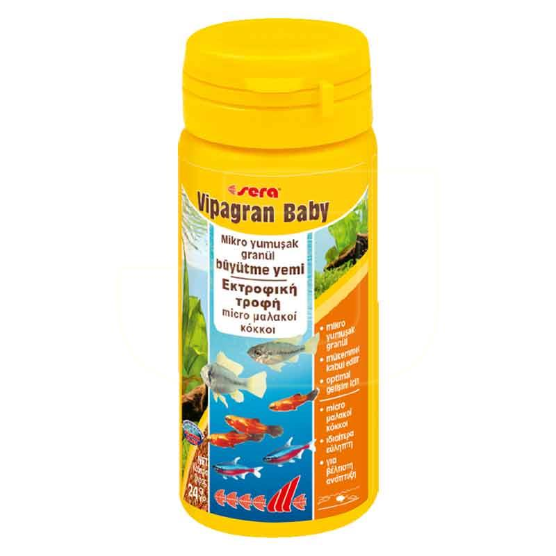 Sera Vipan Baby Micro Granül Yavru Balık Yemi 50 ml | 28,72 TL