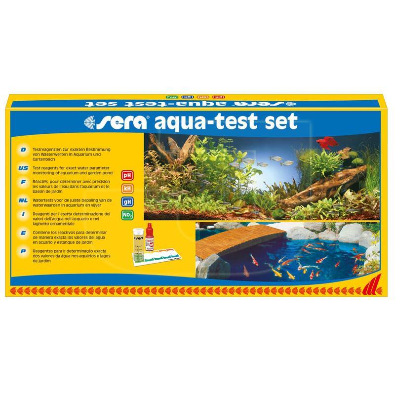 Sera Aqua Test Akvaryum İçin Test Seti | 290,62 TL