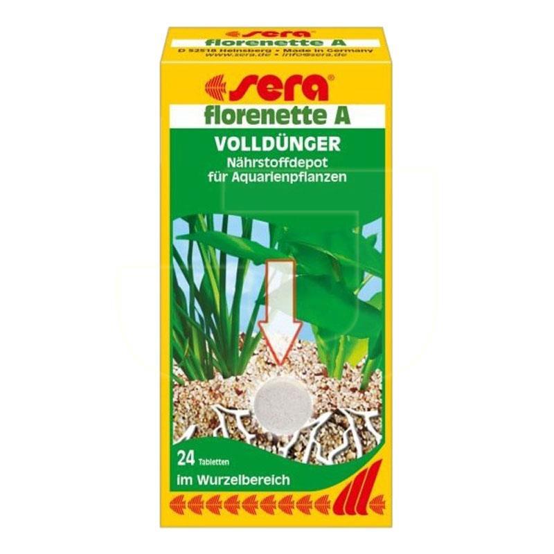 Sera Florenette-A Akvaryum Bitki Gübresi 24 Tablet | 65,19 TL