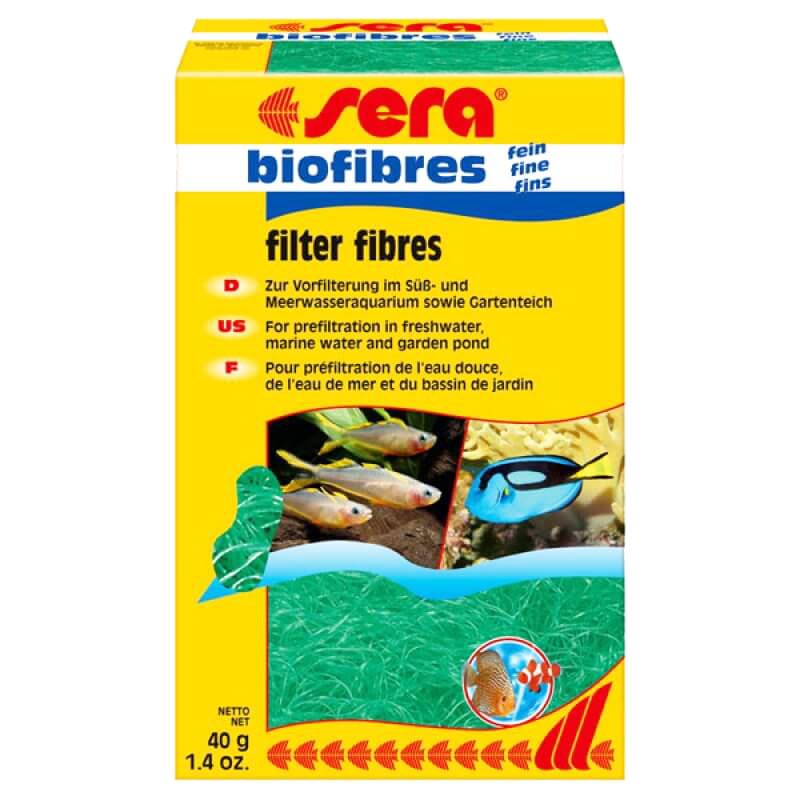 Sera Biofibres Akvaryum Filtre Malzemesi İnce 40 Gr | 51,78 TL