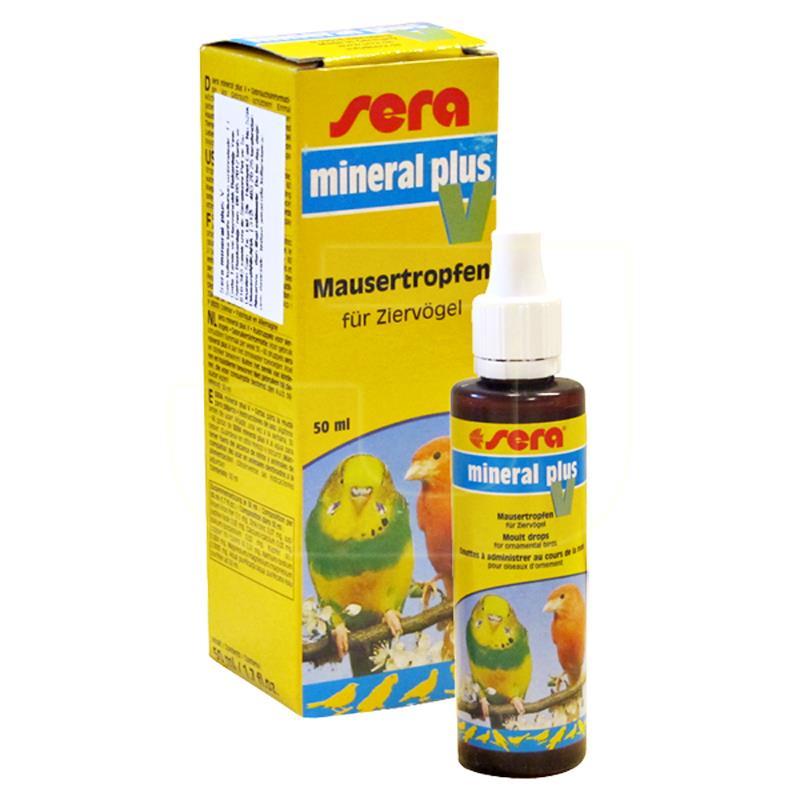 Sera Mineral Plus V Kuşlar İçin Vitamin 50 ml | 58,84 TL