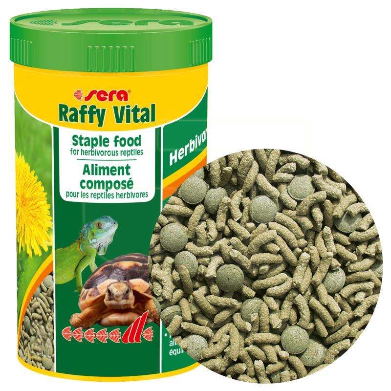 Sera Raffy Vital Kaplumbağa Ve İguana Yemi 250 ml | 30,96 TL