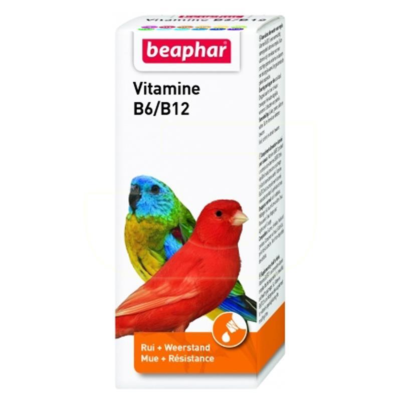 Beaphar Beavit B6/B12 Kuşlar İçin Multi Vitamin 50 ml   53,69 TL