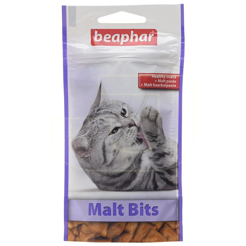 Beaphar Malt Bits Tüy Yumağı Attıran Malt Macunlu Kedi Ödülü 35 gr | 14,64 TL