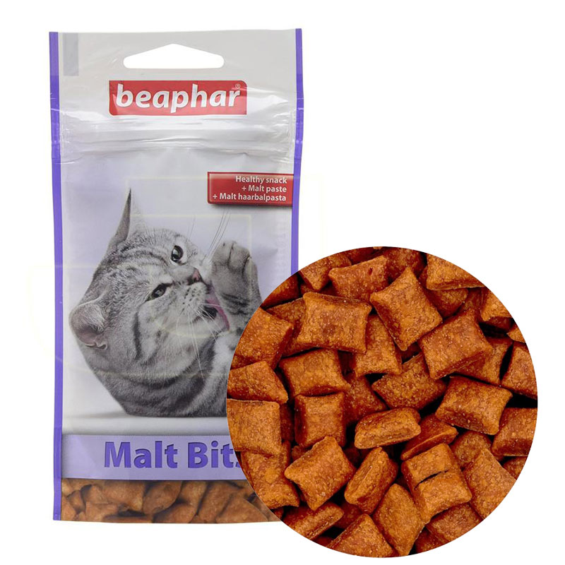 Beaphar Malt Bits Tüy Yumağı Attıran Malt Macunlu Kedi Ödülü 35 gr | 18,41 TL