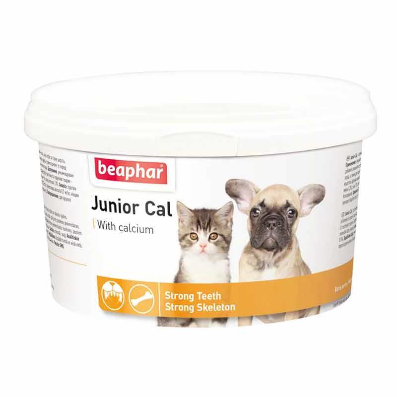 Beaphar Junior Cal Yavru Kediler Ve Köpekler Mineral Vitamin 200 gr | 66,00 TL