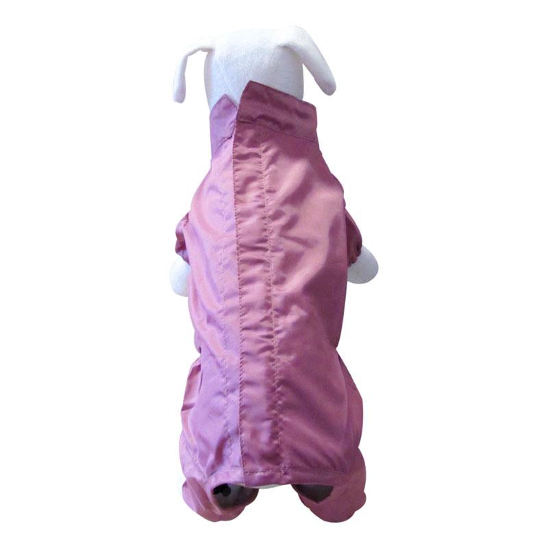 DoggyDolly Paçalı Köpek Yağmurluğu Pembe XSmall | 64,19 TL