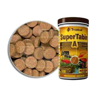 Tropical Super Tabin A Tablet Balık Yemi 360 Tablet | 32,13 TL