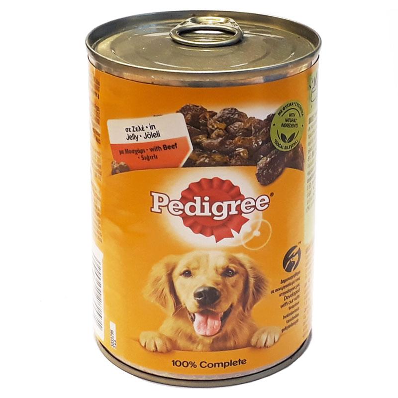 Pedigree Sığır Etli Konserve Köpek Maması 400 gr   13,04 TL
