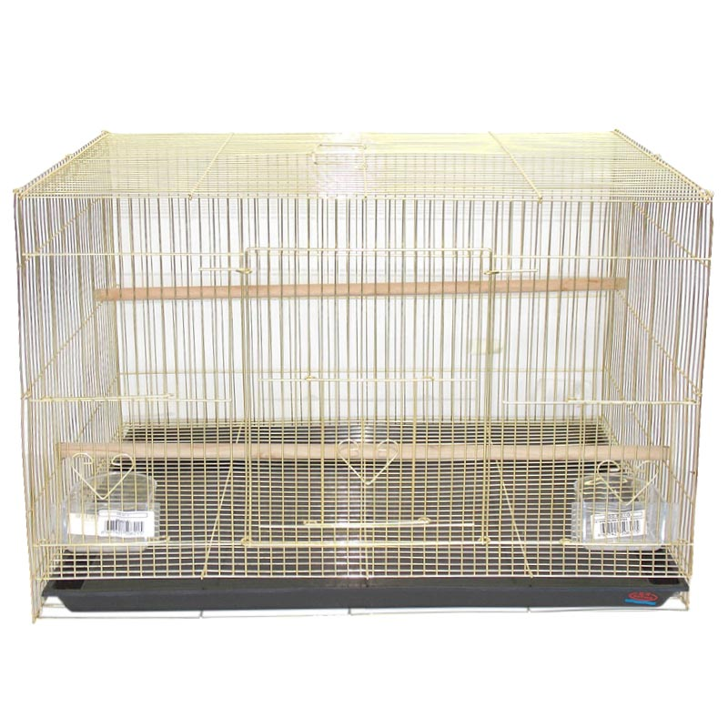 Dayang Pirinç Telli Salma Kuş Kafesi 60x40x40 cm   226,99 TL
