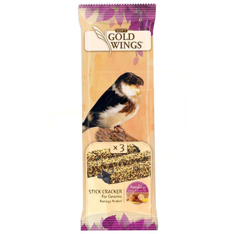 Gold Wings Ballı Yumurtalı Kanarya Krakeri 3 Adet   2,79 TL