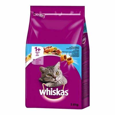 Whiskas Ton Balıklı Ve Sebzeli Yetişkin Kedi Maması 3,8 Kg | 93,46 TL