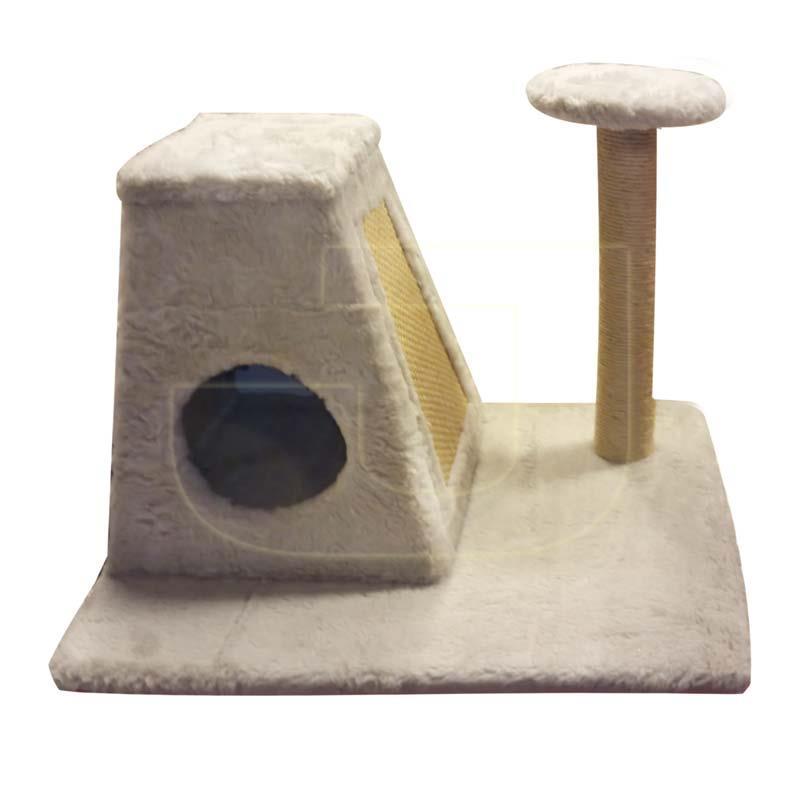 Puffy Cat Piramit Tırmalamalı Kedi Evi 50 cm | 229,32 TL