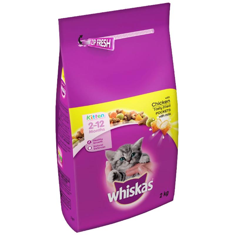 Whiskas Junior Tavuklu Yavru Kedi Maması 2 Kg | 58,11 TL