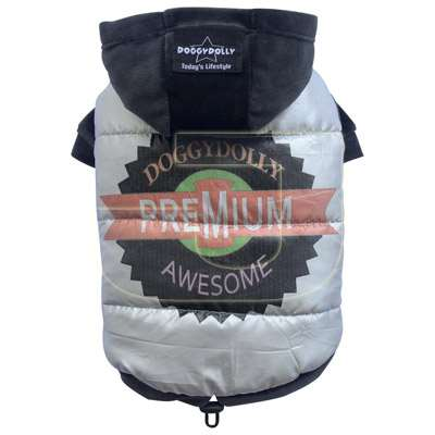 DoggyDolly Premium Awesome Mix Two Legs Kap�onlu Gri Köpek Montu  (XXL) | 78,00 TL