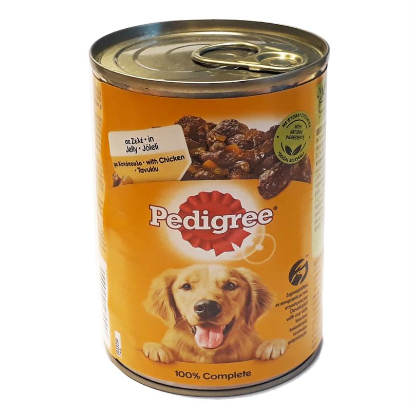 Pedigree Tavuklu Konserve Köpek Maması 400 gr | 11,66 TL
