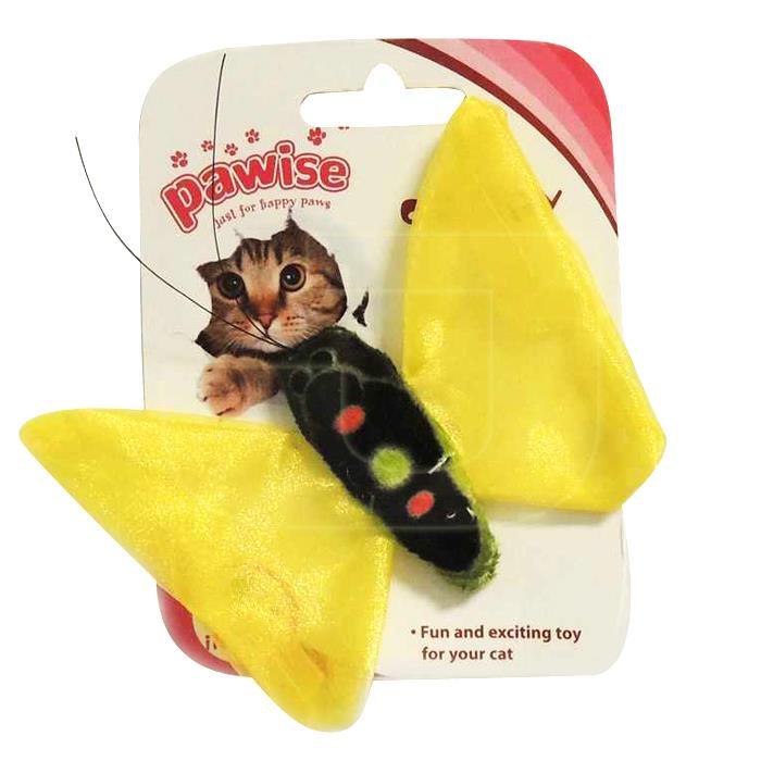 Pawise Kediler İçin Catnipli Kelebek Kedi Oyuncağı 10 cm | 7,92 TL