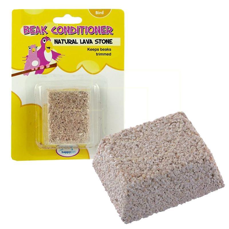 Happy Pet Kuş Gaga Taşı Lava Mineral Blok 85 gr | 7,11 TL