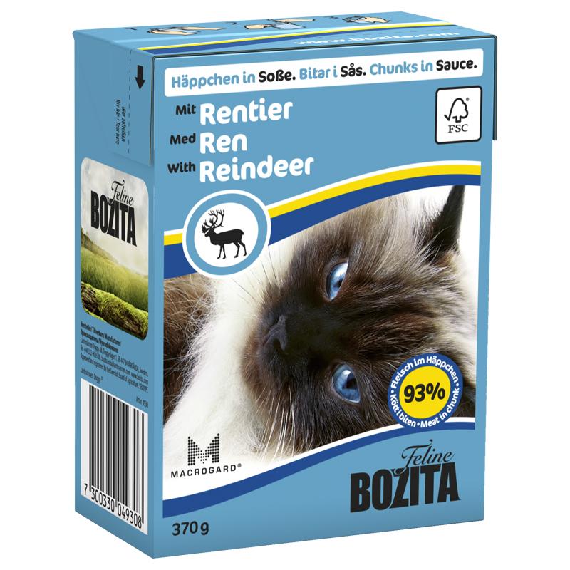 Bozita Ren Geyiği Etli Tahılsız Kedi Konserve Mama 370 gr | 16,10 TL